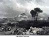 Genzano, il paesaggio nell'Ottocento