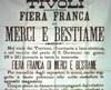 Tivoli, manifesto